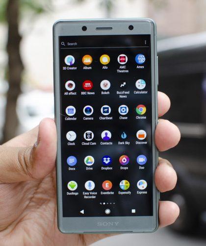 Avis Sony Xperia XZ2 Compact